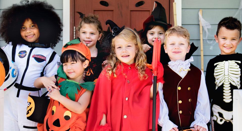 5 cách hóa trang Halloween cho trẻ em đơn giản nhất